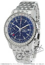 Breitling Navitimer world chronograph blue mens A242C51NP
