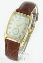 Hamilton Bolton leather brown /GP silver men H13431553