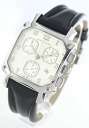 Hamilton Lloyd chronograph leather Black / Silver mens H19412753