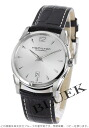 Hamilton jazz master slim automatic leather dark brown / silver men H38515555