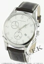 Rakuten Japan sale ★ Hamilton jazzmaster Thinline chronograph Leather Brown / silver mens H38612553