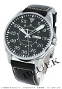 Hamilton Khaki pilot automatic leather dark brown / black men's H64715535