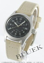 Hamilton khaki field canvas leather beige / black Lady's H68311433