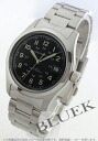 Hamilton khaki field automatic black men H70455133