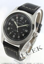 Xmas sale ★ Hamilton khaki field automatic leather black men H70455733