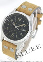 Rakuten Japan sale ★ Hamilton Khaki field auto nubuck leather brown / black men's H70595593