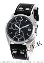 Hamilton Khaki pilot pioneer Chrono leather black mens H76512733
