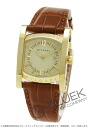Rakuten Japan sale ★ Bulgari asham, YG, pure gold alligator Leather Brown / Champagne Ladies AA39C13GLD