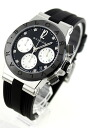 Index automatic chronograph black & white shell Boys DG37BSBCVDCH/8 which BVLGARI D chin Noda hates