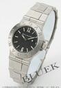 ブルガリディアゴノスポーツクオーツブラックレディース LCV29BSSDQ watch clock