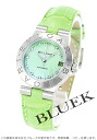 Index leather green shell Lady's LCV29C4SLD/11 which BVLGARI D chin Noda hates