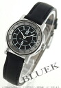 Bulgari solo tempo leather black & silver ladies ST29BSLD