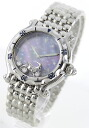 Chopard happy sport diamond index Capricorn brushed women's 28 / 8432 / 1