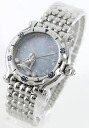 Rakuten Japan sale ★ Chopard happy sport diamond index Virgo brushed women's 28 / 8432 / 9