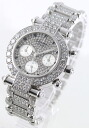 Chopard Imperial Chrono WG pure gold diamond & silver ladies 38/3212-20