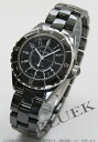 CHANEL sports J12 automatic ceramic black men H0685