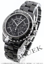 CHANEL sports J12 ceramic chronometer chronograph black H0940