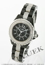 CHANEL sports J12 diamond ceramic black Lady's H1338