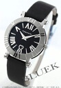 Tiffany atlas ceramic satin leather black Lady's Z1300.11.11A10A41A