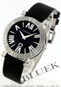 Tiffany atlas ceramic satin leather black Lady's Z1301.11.11A10A41A