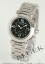 Cartier pasha C MM automatic black Boys W31076M7