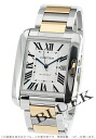 Men's W5310006 watch watch Cartier Cartier tank angles