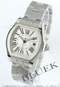 Cartier Roadster LM automatic silver mens W6206017