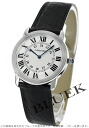 Cartier rondo solo do Cartier leather black / silver men W6700255