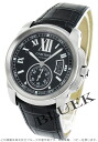 Rakuten Japan sale ★ Cartier カリブル de Cartier LM automatic alligator leather black mens W7100041