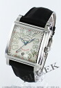 Frank Muller Cortez automatic leather black / silver men 10000HSC