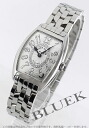 Franck Muller トノーカーベックス relief diamond silver ladies 1752 QZ REL CD 1R