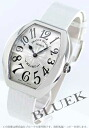5002 Frank Muller heart toe heart black co-leather white / silver Lady's M QZ