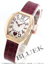 5002 Frank Muller heart toe heart PG pure gold black co-leather red / silver Lady's S QZ C 6H