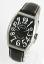 Franck Muller Casablanca leather black boys 5850 CASA