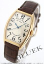 5850 Frank Muller platinum rotor YG pure gold automatic black co-leather brown / silver Boys SC
