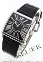 Franck Muller master relief crocodile leather black ladies 6002 L QZ REL R