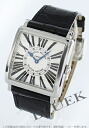 6002 Frank Muller masters kelp grouper lye local people leather black / silver Lady's M QZ