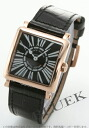 6002 Frank Muller master square PG pure gold leather black Lady's SQZ
