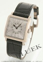 6002 Frank Muller master square WG pure gold black co-leather black / silver long novel Lady's S QZ