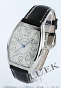 Franck Muller Casablanca automatic leather black / white men's CASA 6850
