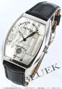Franck Muller Gothic arrange relief automatic crocodile leather black / silver men's SC 7880 DT GOTH REL