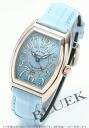 フランクミュラーコンキスタドールレザー WG light blue Lady's 8,002L SC