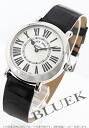 Franck Muller Rondo crocodile leather Black / Silver ladies 8035 QZ R