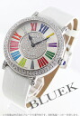 8038 Frank Muller rondo WG pure gold diamond mon doc local people leather white / silver & diamond men QZ COL DRM R D CD 1P
