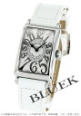 Franck Muller Long Island relief diamond crocodile leather white / silver ladies 902 QZ REL CD 1R watch watches