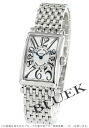 902 Frank Muller Long Island silver Lady's blue needle QZ watch clocks