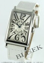 902 Frank Muller long eye orchid doc local people leather white / silver Lady's QZ