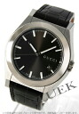 Gucci YA115 Pantheon leather black / gray men YA115203