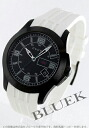 Xmas sale ★ gucci YA126 G thymeless rubber white / black men YA126204