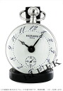 Hermes Hermes Pan Durrett Boolean table clock BO1.810.130.VBN watch clock